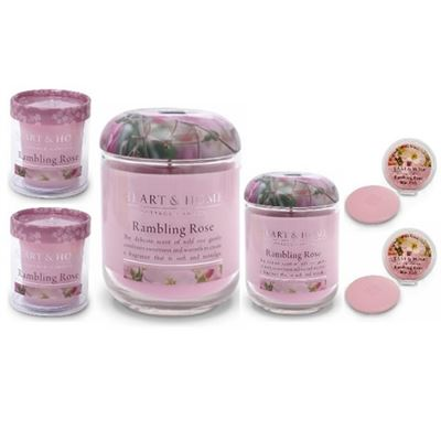 Rambling Rose Heart & Home Gift Set 6 Piece