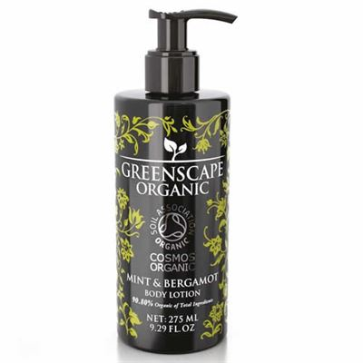 Mint & Bergamot Greenscape Organic Hand & Body Lotion 275ml