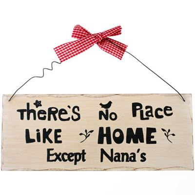 There Is No Place Like Home… Shabby Plaque