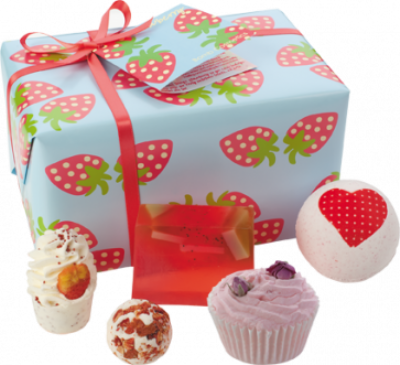 Strawberry Patch Gift Set