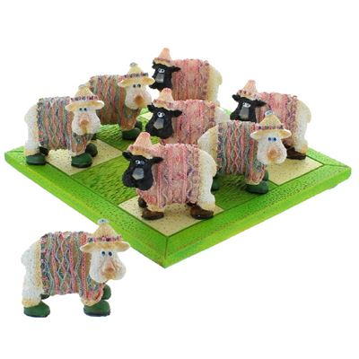 Sheep Noughts & Crosses Set