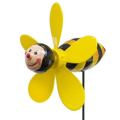 Bee Plant Pot  Garden Spinner