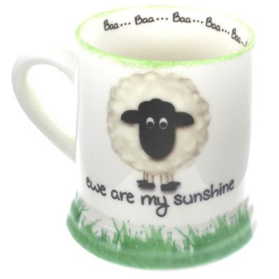 Ewe Are My Sunshine Large Sheep Mug
