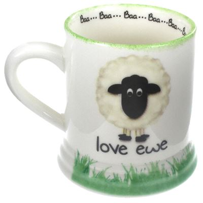 Love Ewe Large Sheep Mug